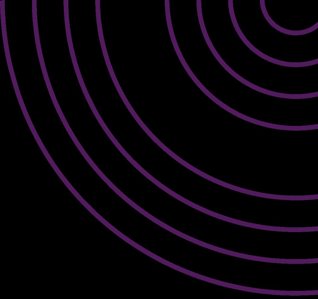 semi circle purple